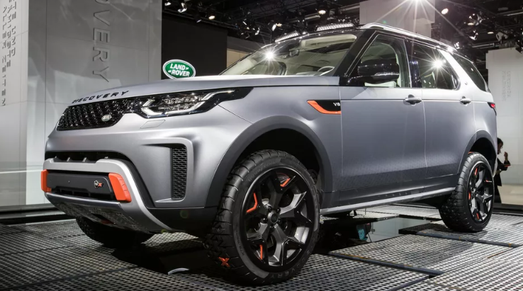 2022 Land Rover Discovery Exterior